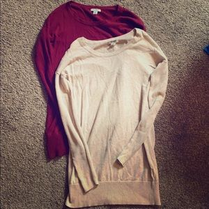 Old Navy Tunic Sweaters